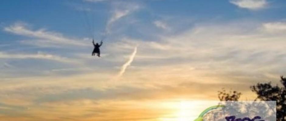 Deportes extremos - Parapente.  Fuente: bogexplore.com